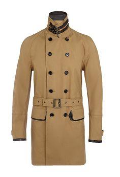 BELSTAFF Jacket in luxe bonded cotton €1,100.00 http://ikonarussia.com/posts/BELSTAFF