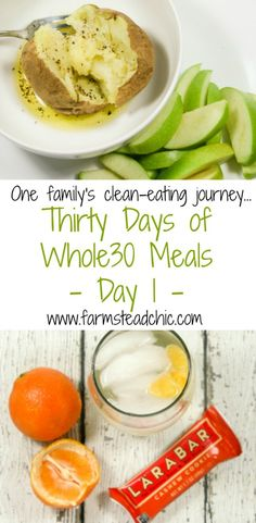 Join my family and me as we start out 2017 Whole30-style! These are our Thirty Days of Whole30 meals. Whole30 breakfasts, lunches, dinners, snacks + drinks!