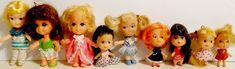 Lot of Vintage Liddle Kiddles Clones Dolls Tiny Dolls, Japanese, Character, Vintage, Japanese Language, Vintage Comics, Lettering
