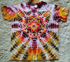 Batikované tričko L - Prozářený les / Zboží prodejce Happy Sunshine Tie Dye, Women, Tye Dye, Woman