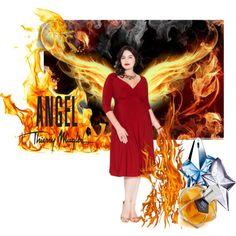 """Fiery angel"" by maria-kuroshchepova on Polyvore"