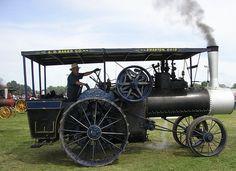 Baker Steam Engine, via Flickr.
