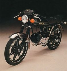 puch magnum black and gold tank decals