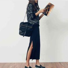 Comment porter une jupe longue , idées originаles en 60 photos