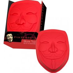 V For Vendetta - Mask Silicone Cake Mould