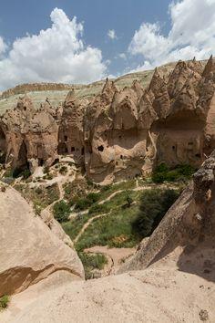 Zelve Open Air Musuem, Cappadocia, Turkey