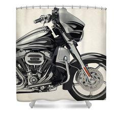 26 Best Harley Davidson Shower Curtain Images Hamilton The
