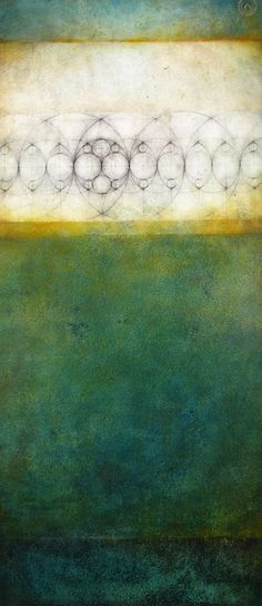 """Luisa Sartori go to """"Circles, triangles and then..."""" images graphite, oil on prepared paper"""