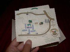 Year Six at Hogwarts - The Marauders' Map