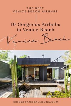 Ultimate guide to the best Airbnbs in Venice Beach, Los Angeles from pool houses to roof deck hot tubs. Complete Airbnb Venice Beach Guide. Venice Beach | Venice Beach House | Venice Aesthetic | Venice Beach Airbnbs | Venice Beach - Where to stay | Best Airbnbs