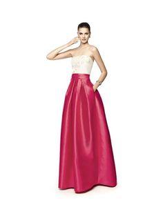 Los 33 vestidos de fiesta largos más lindos para lucir ultra elegante en una boda: Tus mejores aliados Image: 22