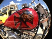 Victors chopper Custom Paint, Chopper, Painting, Choppers, Painting Art, Paintings, Painted Canvas