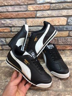 Puma Roma Siyah Beyaz