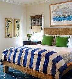 coastal bedroom | Tracery Interiors