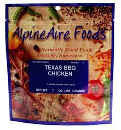 AlpineAire Foods Texas Style BBQ Chicken with Beans >>> Check out this great product.