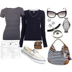 sailing anyone?   @tia  white and navy