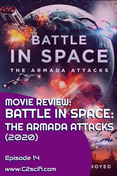 """When you hear a title like """"Battle in Space: The Armada Attacks!"""" certain expectations are set up. You expect, oh, I don't know, perhaps a battle in space? Maybe an armada attacking? Perchance some cardboard characters delivering over-blown dialog and enacting some insane plot? You certainly wouldn't expect what you get in """"Battle in Space."""" 666 Park Avenue, Attack Movie, Space Movies, The Shape Of Water, Mission To Mars, Tv Reviews, Science Fiction, Battle"""