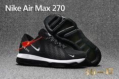 promo code 940f8 d7af5 New style Nike Air Max 270 KPU Black White Men s women s Basketball Shoes  Training Shoes