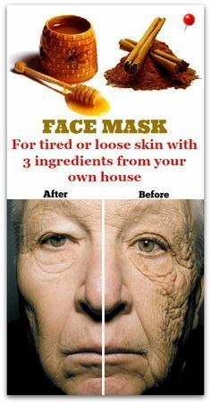 Perfect face mask out of 3 ingredients for tired skin Indiscreet Beauty.-Tired or loose skin ? The ideal solution is a mask made out of 3 ingredients that can be done easily at home. Beauty Tips For Face, Natural Beauty Tips, Skin Care Regimen, Skin Care Tips, Anti Aging Skin Care, Natural Skin Care, Skin Tightening Mask, Face Scrub Homemade, Loose Skin