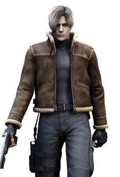 Resident Evil 4 Leather Jacket