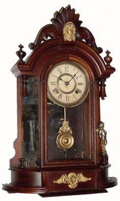 Ansonia Triumph C.1900, Ansonia Clock Co., New York. 8-day