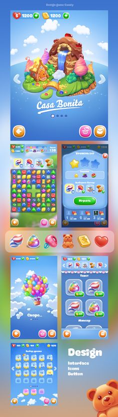 Game Candy on Behance