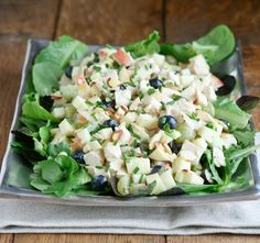 Waldorf Salad Recipe from @Carrie Vitt (Deliciously Organic)