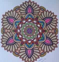 ColorIt Mandalas Volume 2 Colorist: Sherry 'Ooma De' Dennewitz #adultcoloring #coloringforadults #mandalas #mandalastocolor