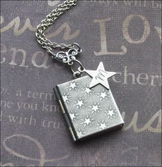 A personal favorite from my Etsy shop https://www.etsy.com/listing/250669720/personalized-locket-initial-necklace
