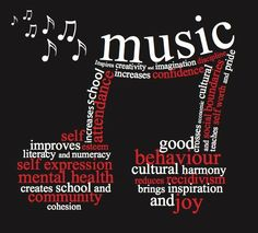 'Music is a more potent instrument than any other for education.' ~ Plato