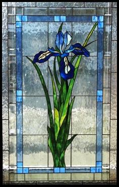 My Mother's Favorite flower after yellow roses! Prairie Stained Glass Representational Design