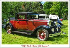 1929 Nash Model 460 Coupe