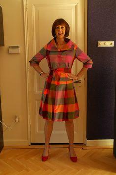 Festive dressing in multi coloured silk - No Fear of Fashion
