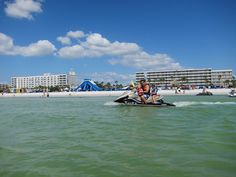 Water front fun at TradeWinds Island Resorts