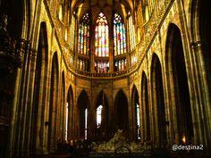 Praga.- Catedral de San Vito, interior