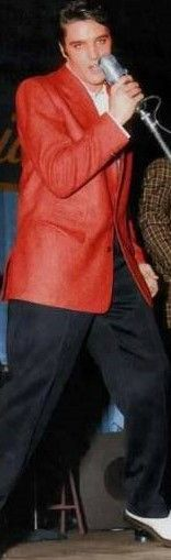 love the red jacket