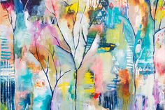 From Stuck -> To Feelin' It :: A Roadmap through Painter's Block - Flora Bowley