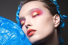 plastique on Makeup Arts Served Makeup Art, Hair Makeup, Fashion Story, Septum Ring, Make Up, Hair Beauty, Image, Editorial, Jewelry
