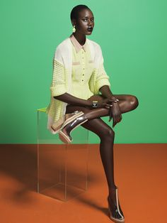 Ajak Deng for Nasty Gal photographed by Paul Trapani
