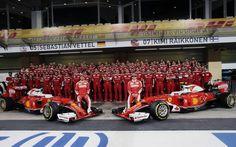 Ferrari team, Abu Dhabi 2016