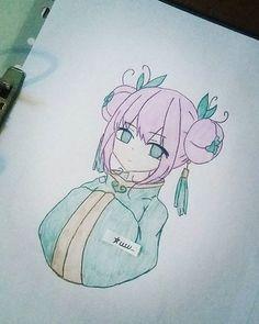 Anime Girl Drawing ~ • • • #drawing #anime #manga #mangadrawing #kawaii #otaku #pencildrawing #art #speeddrawing #りん #奥村 #青のエクソシスト #アニメ #まんが #漫画 #愛 #かわいい #お宅 #描画 #すばやく #like4follow #like4like