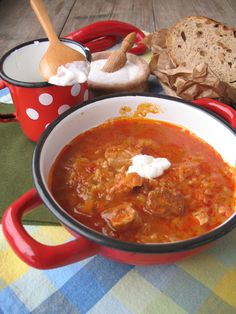 Soups And Stews, Thai Red Curry, Chili, Ethnic Recipes, Food, Cooking, Chile, Essen, Meals