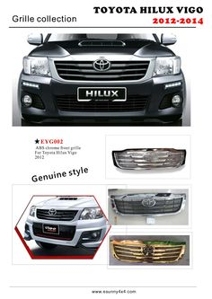 Hilux Vigo 2012 grille 4x4 Accessories, Toyota Hilux, Chrome, Abs, Crunches, Abdominal Muscles, Killer Abs, Six Pack Abs