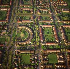 England - Milton Keynes, housing and gardens