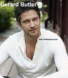 Nov 13 - Gerard Butler, Scottish actor was Born Today. For more famous birthdays http://holidayyear.com/birthdays/