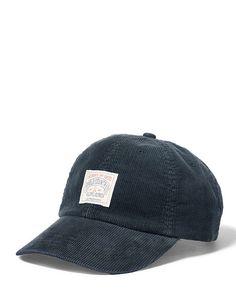 Corduroy Sport Cap - Polo Ralph Lauren Hats - RalphLauren.com