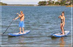 flat boarding on water | Sea Eagle LongBoard 11 Standup paddle board, Sea Eagle and Cannon ...