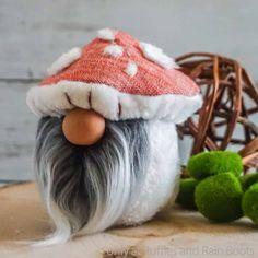 Gnomes Archives - Ruffles and Rain Boots Mushroom Hat, Stuffed Mushroom Caps, Stuffed Mushrooms, Gnome Tutorial, Mug Cozy, Shoe Pattern, Christmas Gnome, Fleece Fabric, Body Shapes