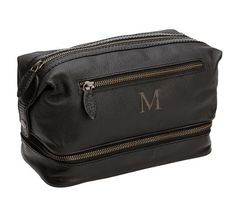 Pebble Leather Toiletry Case | Pottery Barn