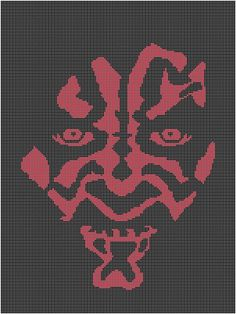 DARTH MAUL RED CROCHET PATTERN GRAPH EMAILED.PDF #5108